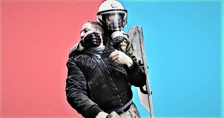 Επί ΣΥΡΙΖΑ τα ΜΑΤ πρόσφεραν λουλούδια στους διαδηλωτές! Βαγγέλης Γεωργίου