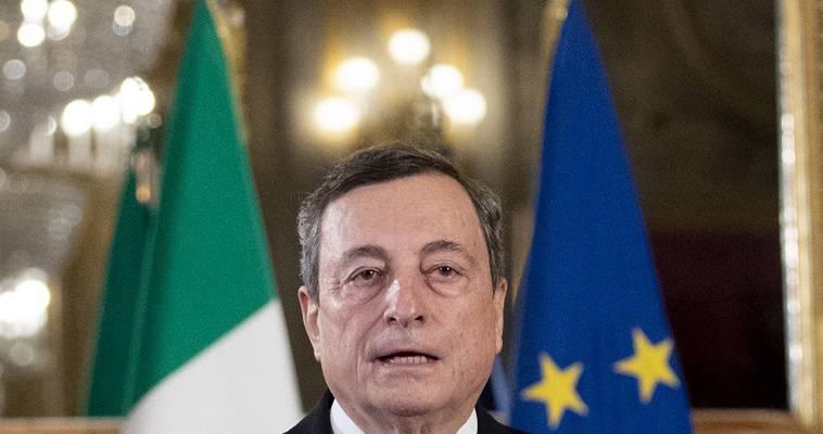 """Ο """"Σούπερ Μάριο"""" στο τιμόνι της Ιταλίας – Παρουσίασε την κυβέρνησή του, Βαγγέλης Σαρακινός"""