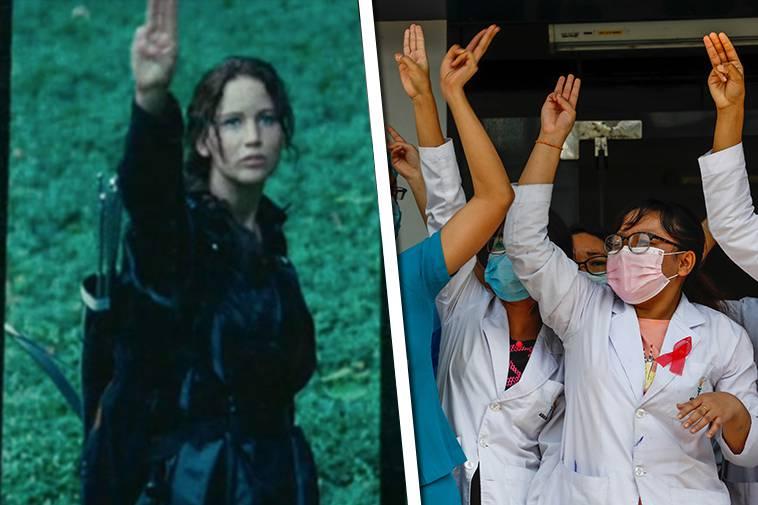 Πως μια ταινία ενέπνευσε τους διαδηλωτές στην Άπω Ανατολή