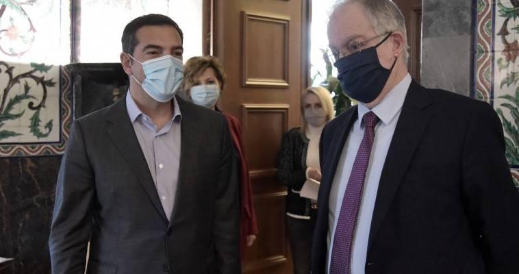 Πανδημία και Δημοκρατία – Στον Τασούλα ο Τσίπρας για θέματα κοινοβουλευτικής λειτουργίας